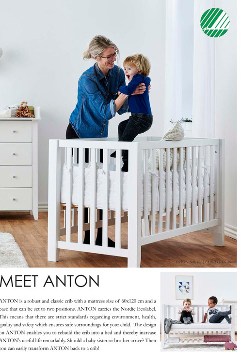 6260f826b98 Anton Baby bed / πολυμορφικό κρεβατάκι μωρού από μασίφ ξύλο