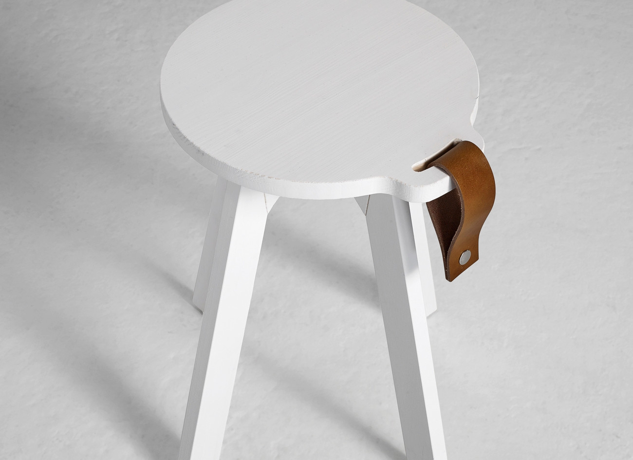 stool-table wooden