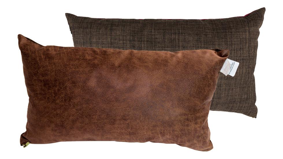 σετ 2 μακρόστενων μαξιλαριών καναπέ