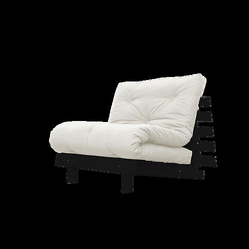 μονή πολυθρόνα κρεβάτι με στρώμα futon βαμβάκι-μαλλί διάσταση  90 Χ 200 εκ.,