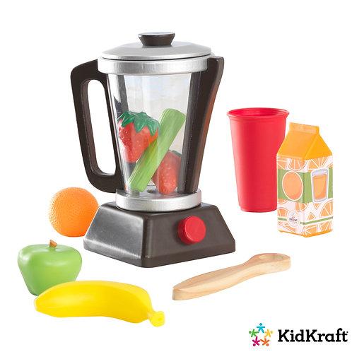 σετ μπλεντερ με λαχανικά, φρούτα και αξεσουάρ kidkraft