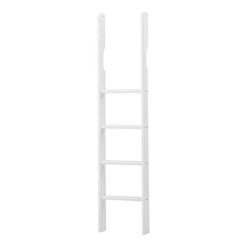 ψηλή σκάλα από μασίφ ξύλο για κουκέτα