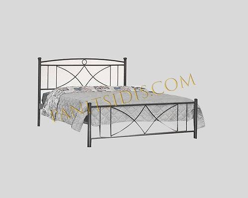 Vienna 150 / διπλό μεταλλικό κρεβάτι