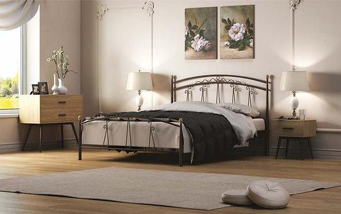 Nevada 160 / διπλό κρεβάτι μεταλλικό