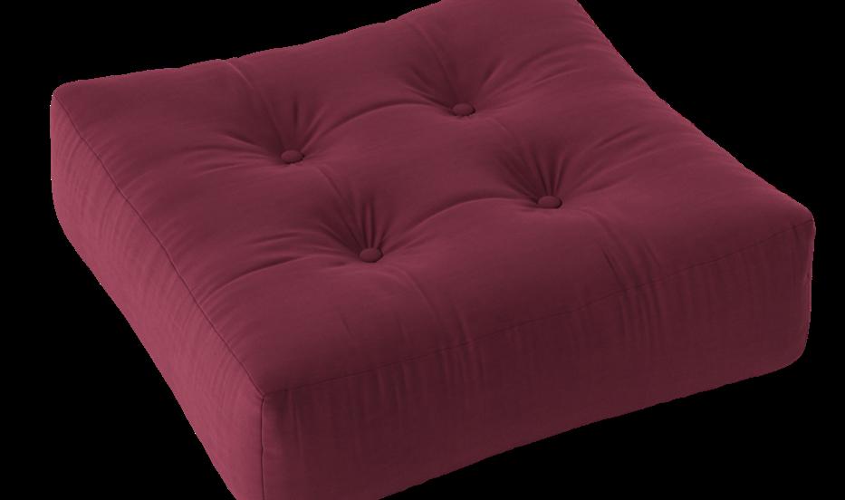 Πουφ από futon στρώμα, χειροποίητο σε πολλά χρώματα  εσωτερικού χώρου