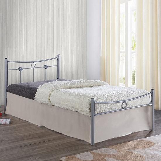 Maria 90 /  Μονό Μεταλλικό Κρεβάτι