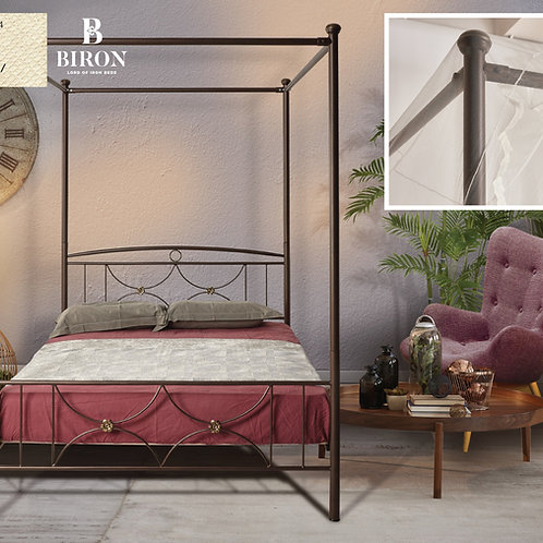 Gina / Μεταλλικό Κρεβάτι
