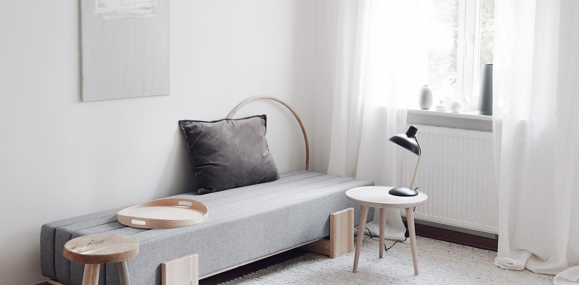 διπλός καναπές κρεβάτι 125 Χ 200