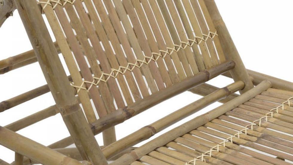 ξαπλώστρα χειροποίητη από bamboo