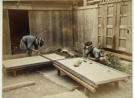 Tatami: an old Japanese Art 畳