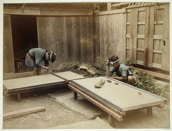 Κατασκευή Tatami, Μέσα 16ου Αιώνα