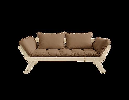 Bebop sofa bed-Natural / Διθέσιος Καναπές Κρεβάτι-Φυσικό