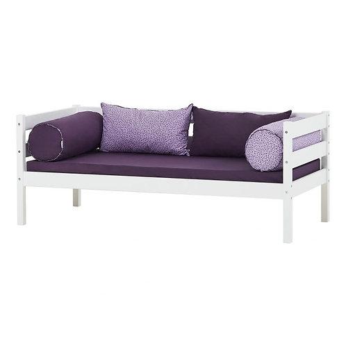 IDA junior bed-White / κρεβατάκι με πλάτη για μικρά παιδιά