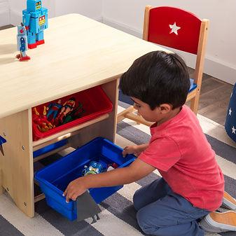σετ παιδικής τραπεζαρίας με αποθηκευτικούς χώρους  4.jpg