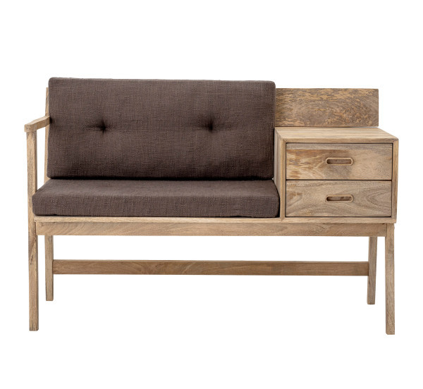 Έπιπλο καθιστικού ξύλινο με 2 συρτάρια - έπιπλο Hall