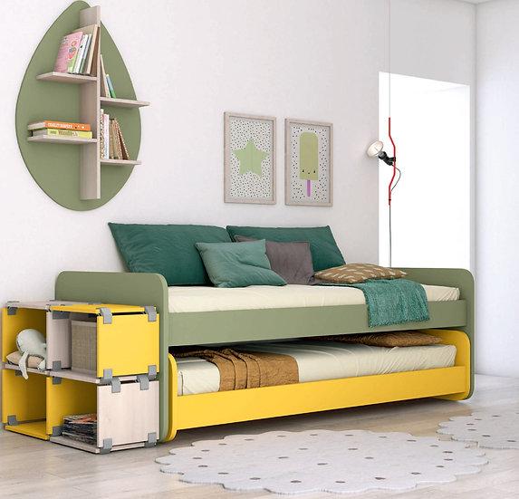 Παιδικό ξύλινο Ιταλικό κρεβάτι