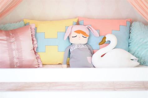 Αξεσουάρ μαξιλάρια παιδικού δωματίου
