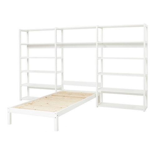 σύστημα παιδικής διπλής βιβλιοθήκης με μονό κρεβάτι σε ειδκή τιμή-προσφορά!