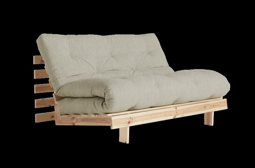 διθέσιος καναπές κρεβάτι με στρώμα φουτόν 140 Χ 200