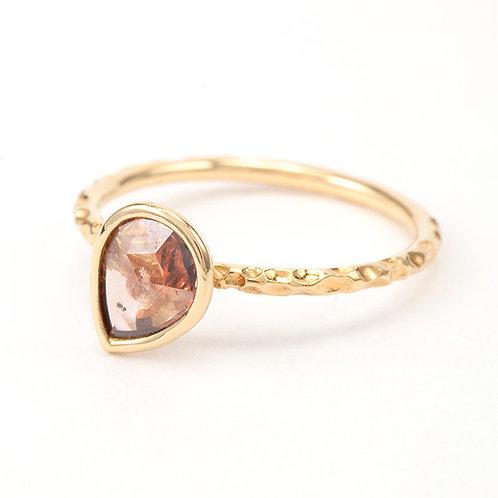 k18ナチュラルダイヤモンド リング