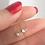 Thumbnail: K10ハートシェイプダイヤモンドペンダントネックレス