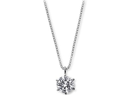 ハイグレードのダイヤモンドネックレス 0.2ctup