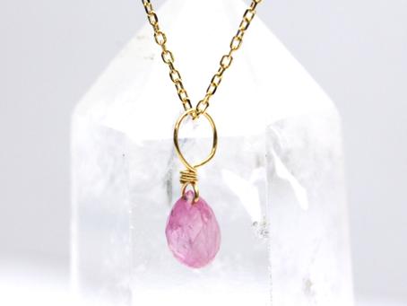 【可愛いピンクの宝石】