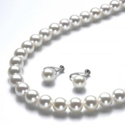 本真珠2点セット8.0-7.5㎜