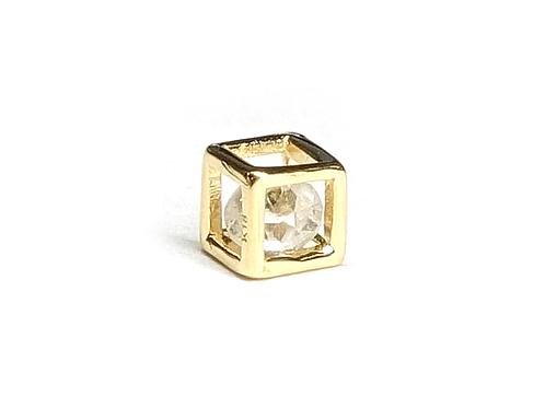 K18 ダイヤモンドスクエアネックレス