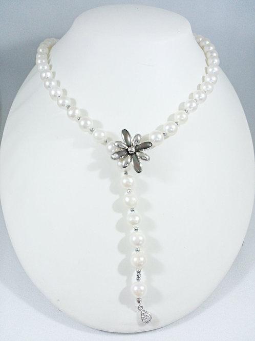 商品名 本真珠Y型フリーネックレス