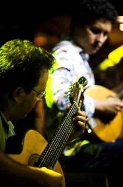 Lucas Fainblat e Gustavo Maguá