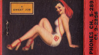 VINTAGE PINUP MATCHBOOKS FROM THE '50-60s
