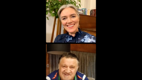 Watch: Petra Bagust and Pio Terei chat about their love for Te Reo Māori