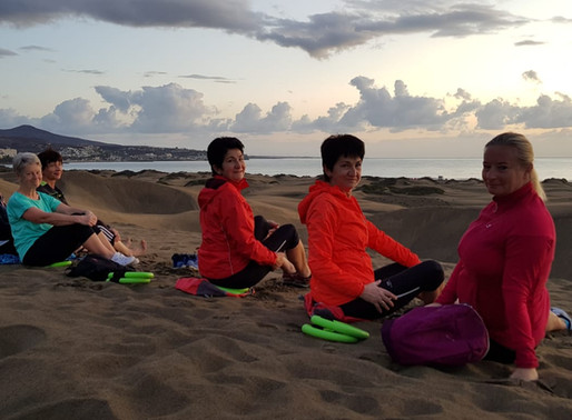 Fitnesswoche auf Gran Canaria