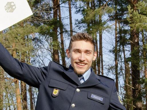 Nick Klessing zum Polizeimeister ernannt