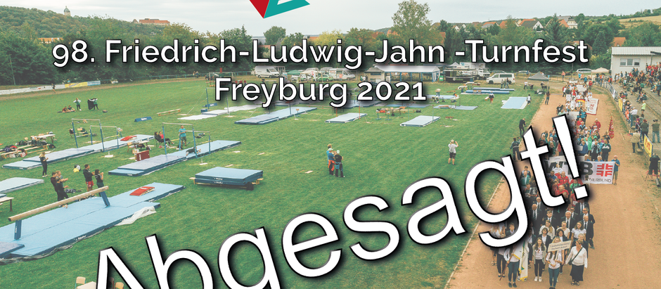 98. Friedrich-Ludwig-Jahn-Turnfest 2021 abgesagt