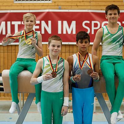Deutsche Jugendmeisterschaften Gerätturnen männlich 2021