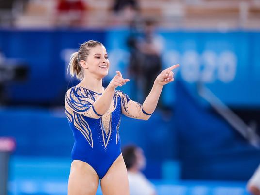 Olympisches Mehrkampffinale der Frauen