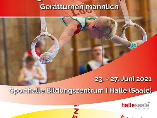 Deutsche Jugendmeisterschaften Turnen männlich 2021