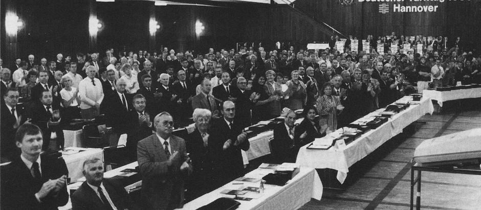30 Jahre deutsch-deutsche Einheit der Turnverbände