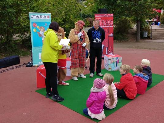 Landeskinderturnfest in Magdeburg und Eröffnung des 25. Kinderturnclubs in Sachsen-Anhalt