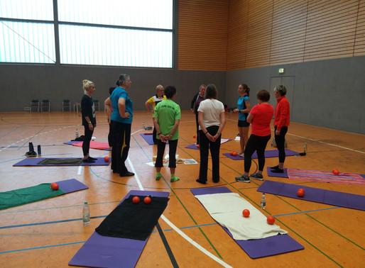 Workshop – Weiterbildung für Übungsleiter Gymnastik