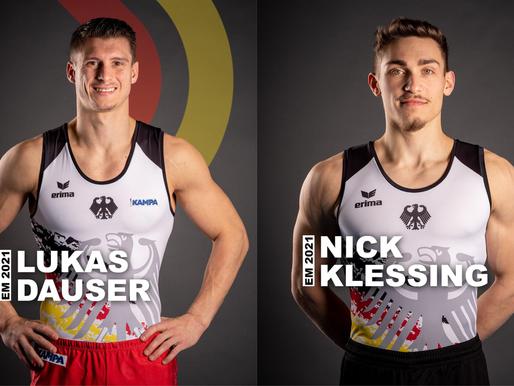 Nick Klessing und Lukas Dauser für EM nominiert