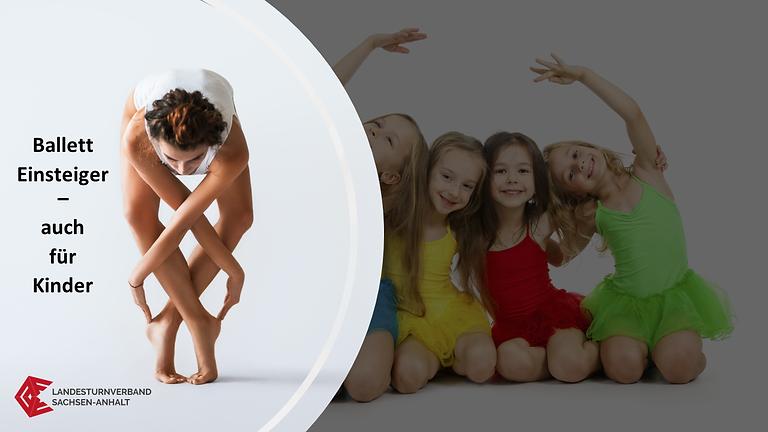"""WS 2130 """"Ballett für Anfänger – Kinder, Jugend, Erwachsene"""""""