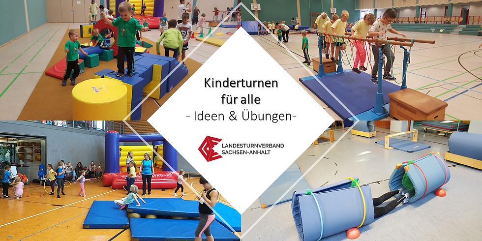 """WS 2122 """"Kinderturnen für alle - Ideen und Übungen"""""""