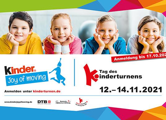 Tag des Kinderturnens: Anmeldefrist verlängert!