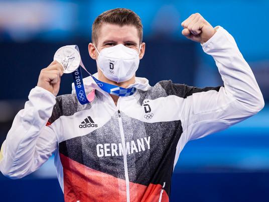 Lukas Dauser holt olympisches Silber