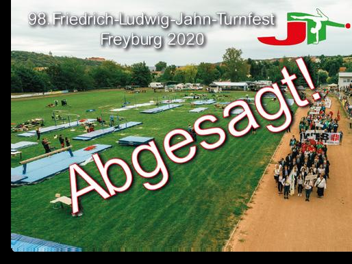 98. Friedrich-Ludwig-Jahn-Turnfest 2020 abgesagt