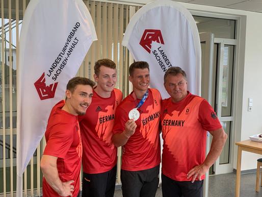 Empfang der Olympia-Rückkehrer am 25.08.21 in Halle