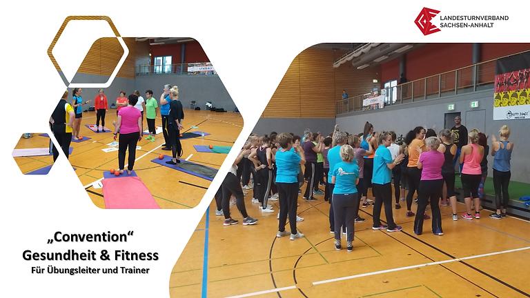 """WS 2137 Convention """"Gesundheit & Fitness"""""""